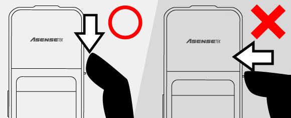 LED Spektrometer Lighting Passport Flagship vorsichtig ein-ausschalten