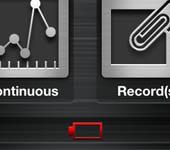 led spektrophotometer batterysymbol