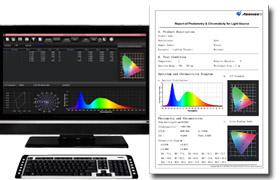 Meßprotokollerstellung Spektralanalyse