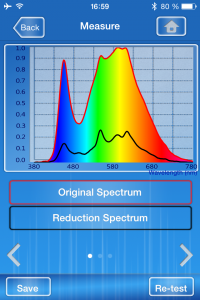 Spectrum Genius Transmittance App Filter