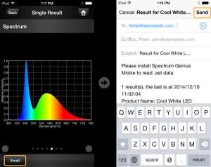 Spektrophotometer fuer Smartphone zur Lichtanalyse