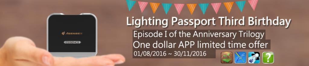 3 Jahre Lightingpassport